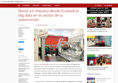 Euskadi Tecnologia 31.01.2018 (Spanish Media)