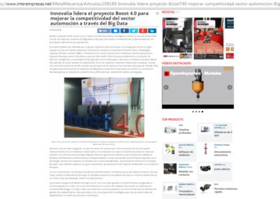 Interempresas 31.01.2018 (Spanish Media)