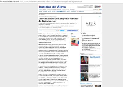 Noticias de Álava 31.01.2018 (Spanish Media)