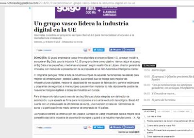 Noticias de Guipuzkoa 31.01.2018 (Spanish Media)