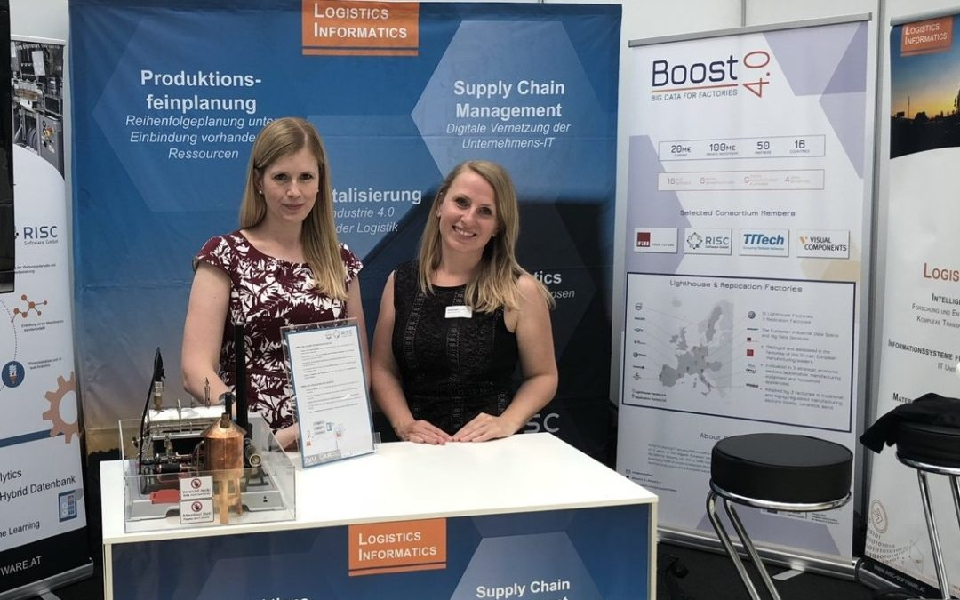 RISC Software has presented Boost 4.0 at the Austrian logistics day in Linz!