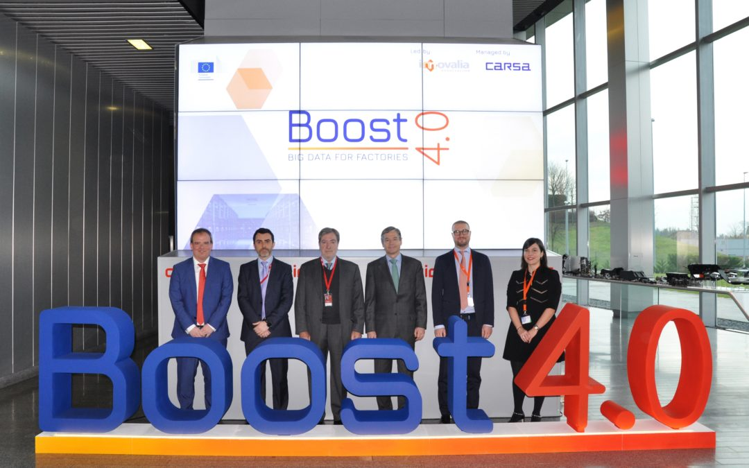 Innovalia leads BOOST 4.0 project, an initiative of € 20 million to improve the competitiveness of the automotive sector through Big Data.