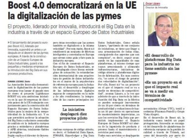 Empresa XXI 15.02.2018 (Spanish Media)