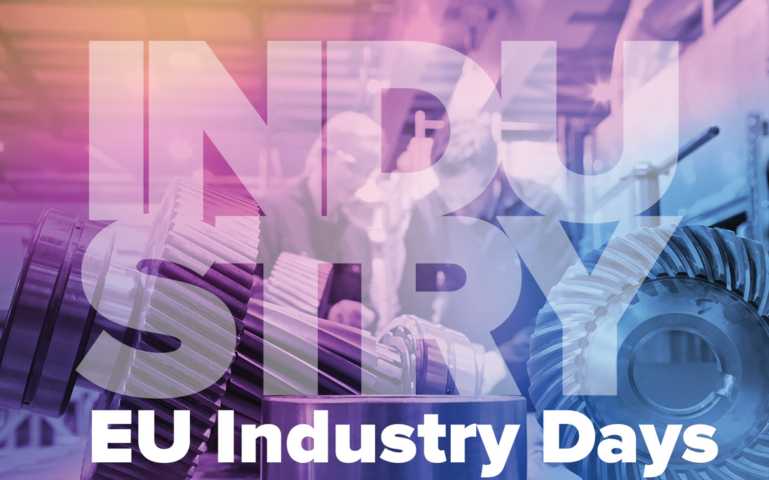 Boost 4.0 will be at the EU Industry Days 2019