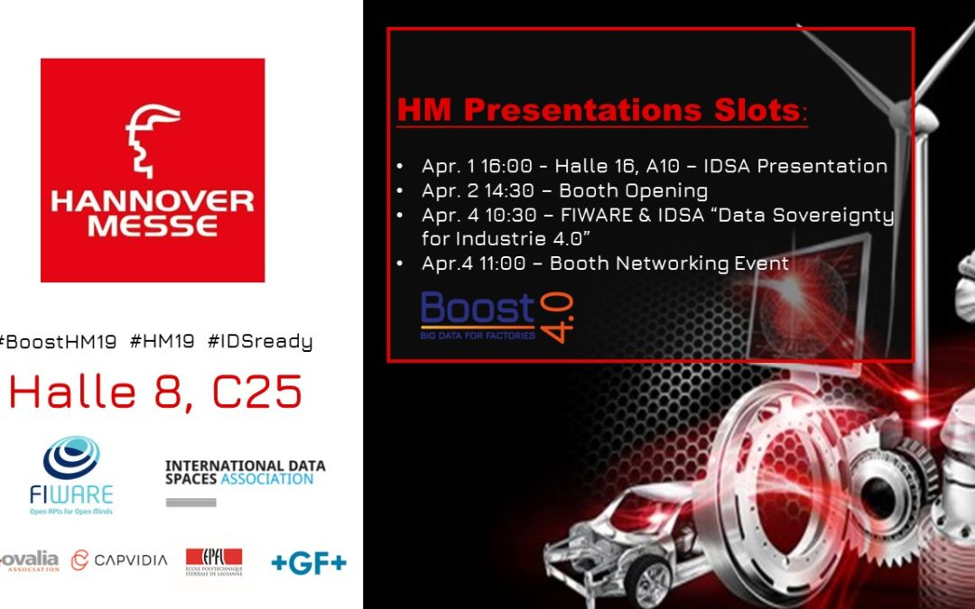 Boost 4.0, Zero Defect Manufacturing Use Case Highlighted at Hannover Messe 2019